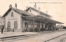 Eygurande - Merlines -Vue Intérieure De La Gare - Eygurande