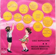 """7"""" - THE BABIES SINGER - CIAO NAPOLEONE/NICCHI,SGNACCHI,MUCCHI MUCCHI - G&R 1969 - Bambini"""