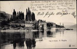 CPA San Vigilio Lago Di Garda Veneto, Ufermotiv - Sonstige