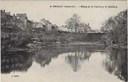 44   Orvault  -  L'etang De La Fabrique Et Le Bourg - Orvault