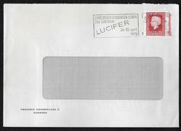 Utrecht: Utrechts Studenten Corps 32e Lustrum Lucifer 24-30 April 1976 - Poststempels/ Marcofilie