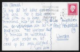 "Leeuwarden: Tentoonstelling Kunst En Ambacht ""open Stal"" Oldeberkoop 25/7 - 30/7 1977 - Poststempels/ Marcofilie"