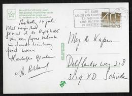 Maastricht: 175 Jaar Kamer Van Koophandel En Fabrieken Voor Maastricht En Omgeving - Poststempels/ Marcofilie