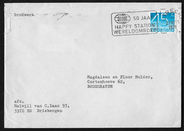 Utrecht: 50 Jaar Happy Station Wereldomroep - Poststempels/ Marcofilie