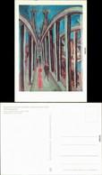 Berlin Nationalgalerie: Gemälde Rheinbrücke In Köln Ludwig Kirchner 1986 - Zonder Classificatie