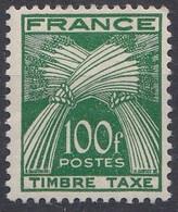 FRANCE TAXE N** 89 MNH - 1859-1955 Mint/hinged