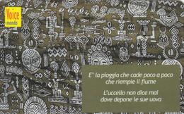 PREPAID PHONE CARD ITALIA VOICE (CK1547 - [2] Sim Cards, Prepaid & Refills