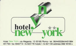 SCHEDA PER CAMERA ALBERGO (CK1686 - Hotel Keycards