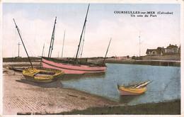 COURSEULLES SUR MER : UN COIN DU PORT - Courseulles-sur-Mer