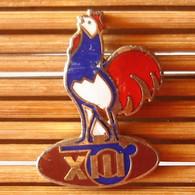Joli Pin's Coq FF Rugby, émail Grand Feu, TBQ, Pins Pin. - Other