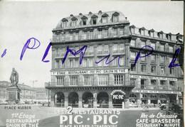 IM  67  STRASBOURG  Place Kleber Avec Restaurant Pic-Pic PUB Café Brasserie Restaurant Minute - Strasbourg
