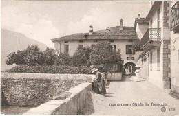 ITALIE. TREMEZZO . STRADA . ANIMATION . Pour PAYS-BAS . 1912 . Timbre Paire 76 - Altre Città