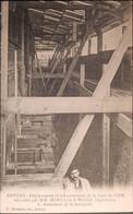Anvers, Déplacement Et Rehaussement De La Gare Du Dam #05 Armement De La Marquise (G. Hermans) - Antwerpen