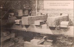 Anvers, Déplacement Et Rehaussement De La Gare Du Dam #06 Armement Intérieur... (G. Hermans) - Antwerpen