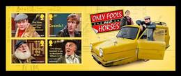 Great Britain 2021 Mih. 4736/39 (Bl.141) Television Sitcom Only Fools And Horses MNH ** - Ongebruikt