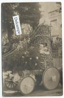 LAMALOU-les-BAINS (34) - Carte-photo D'1 Char En 1922 - Lamalou Les Bains
