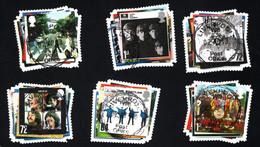 2006 Beatles Album Mi GB 2474 - 2479 Sn GB 2421 - 2426 Yt GB 2827 - 2832 Sg GB 2686 - 2691  Used - Used Stamps