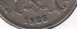 ALBERT I * 10 Cent 1926 Frans * 26 Over 23 * Nr 10466 - 04. 10 Céntimos