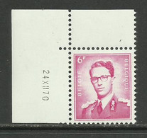 DR17 : Nr 1069F Met Drukdatum 24 XII 70 ( Vluchtige Of Verdwijnende Gom ) - 1953-1972 Anteojos
