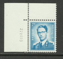 DR18 : Nr 1069BF Met Drukdatum 22 VI 70 ( Postfris ) - 1953-1972 Anteojos