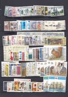 BELGIQUE  : Lot De 160 Timbres Oblitérés Cote 130 € . Entre Années 1966 à 2013  Numéros Yvert 1391 à 4360 - Sammlungen