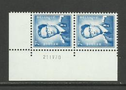 DR20 : Nr 1069BF Met Drukdatum 21 IV 70 ( Postfris ) - 1953-1972 Anteojos