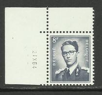 DR21 : Nr 1071W Met Drukdatum 2 IX 64 ( Postfris ) - 1953-1972 Anteojos
