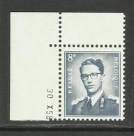 DR23 : Nr 1071W Met Drukdatum 30 X 58 ( Postfris ) - 1953-1972 Anteojos