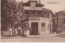 91 MONTGERON (.PLACE De La Garenne  . ) . - Montgeron