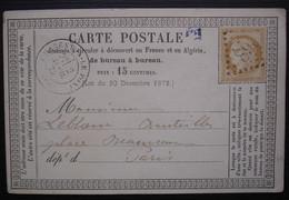 Charenton-le-Pont Gc 896 Carte Précurseur Pour Paris - 1849-1876: Classic Period