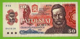 TCHECOSLOVAQUIE / PÄTDESIAT KORUN / 50 COURONNES / 1987 - Czechoslovakia