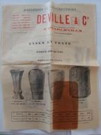 Fonderies Et Constructions Deville Et Cie à Charleville  Ardennes - 1900 – 1949