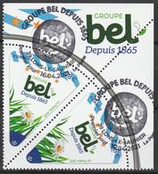 "2021 ""GROUPE BEL Depuis 1865"" - OBLITERE 1er JOUR LONS - LE SAUNIER - 16.04.2021 - 2010-.. Matasellados"