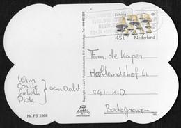 Heerlen: Wereldkampioenschappen Kunstwielrijden Heerlen 22-24 Oktober 1981 - Poststempels/ Marcofilie