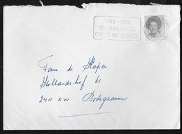 's-Gravenhage: 1946-1986 International Court Of Justice - Poststempels/ Marcofilie