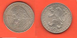 Cecoslovacchia 10 Corone 1957 Korun Czechoslovakia Kronen - Tschechoslowakei