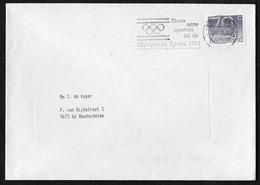 's-Hertogenbosch: Steun Onze Sporters Bij De Olympische Spelen 1992 - Poststempels/ Marcofilie