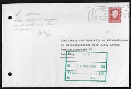 's-Gravenhage: Bloeddruk Meten Zeker Weten April 1978 Wereld Hypertensie Maand Nederlandse Hartstichting - Poststempels/ Marcofilie