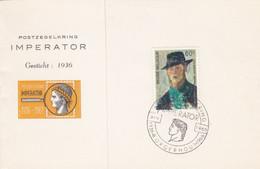 1384 Postzegelkring Imperator Borgerhout - Brieven En Documenten