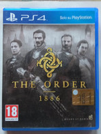 Sony PlayStation 4 - THE ORDER  1886 ( Anno 2015  ) - Sony PlayStation