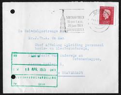 Breda: 500 Jaar Toren 16 Mei T.e.m. 29 Juni 1969 Torenfeesten - Poststempels/ Marcofilie