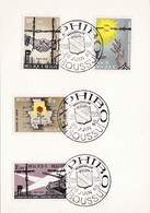 1329 à 1332 Exphibo Boussu - Brieven En Documenten