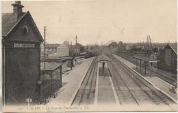 62 CALAIS  La Gare Des Fontinettes - Estaciones Con Trenes