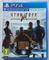 Sony PlayStation 4 - STAR TREK   BRIDGE CREW  -  PLAYSTATION VR ( Anno 2016  ) - Sony PlayStation