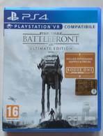 Sony PlayStation 4 - STAR WARS  BATTLEFRONT  -  Ultimate Edition -  PLAYSTATION VR ( Anno 2016  ) - Sony PlayStation