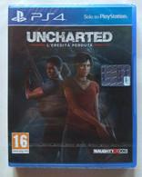 Sony PlayStation 4 - UNCHARTED L'EREDITA' PERDUTA -   ( Anno 2017  )  NUOVO Ancora Sigillato - Sony PlayStation