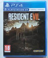 Sony PlayStation 4 - RESIDENT EVIL  BIOHAZARD ( Anno 2017  ) - Sony PlayStation