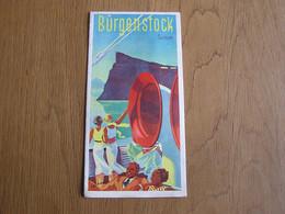 DEPLIANT TOURISTIQUE Tourisme Suisse Bürgenstock Switzerland Schweiz Hôtel Palace Voyage - Tourism Brochures