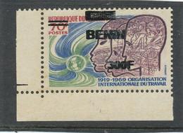 Bénin 2009 ( Organisation Internat.Travail - OIT - 300F/70F) ++ Luxe - Coin De Feuille - TRES RARE -NON EMIS - Benin – Dahomey (1960-...)
