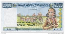 DJIBOUTI P. 40  2000 F 1997 UNC - Djibouti